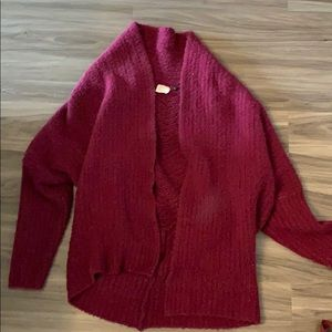 So comfy sweater from Anthropologie